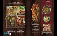 Thiết Kế Menu Món Việt