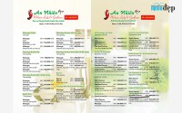 Thiết kế menu Spa