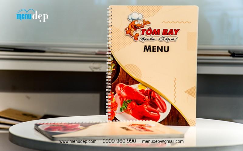 Menu lò xo- Tôm Bay