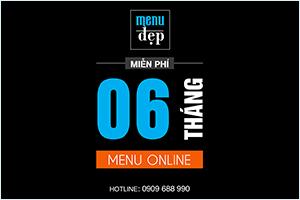 Miển phí sử dụng Menu Online