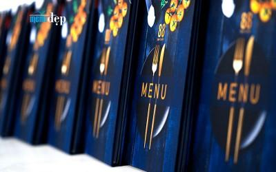 In menu đẹp