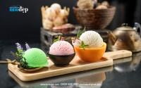 Chụp hình kem