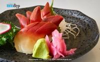 Chụp hình món Nhật